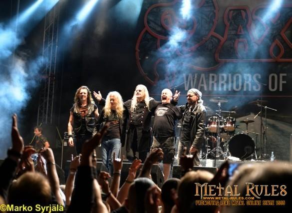 Saxon in Oulu. August 2015