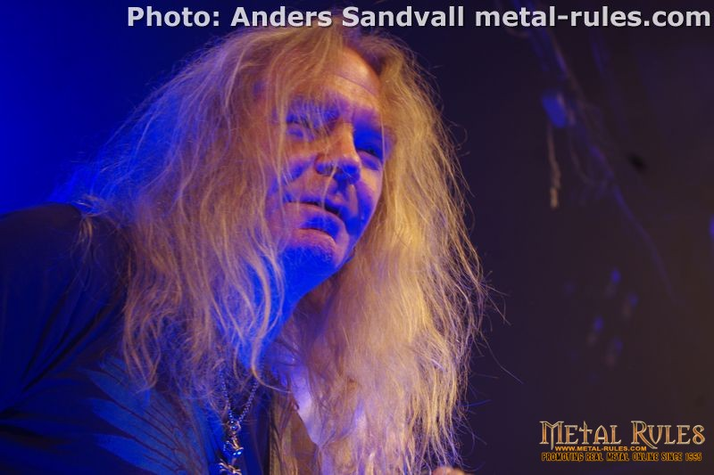 Saxon With Support On Battering Ram European Tour 2015