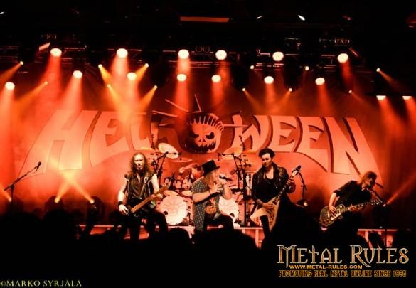 Helloween live at Helsinkli 2016