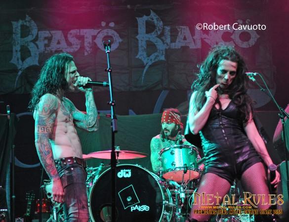 Beasto Blanco Metal Melt Down at NAMM JAMM 2016