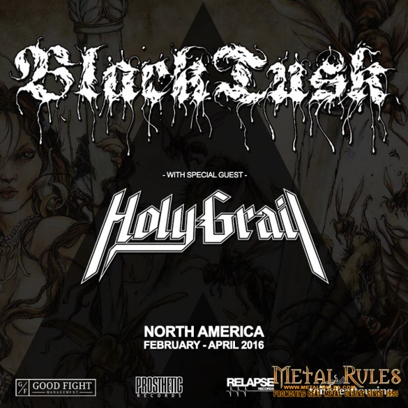 Black Tusk with special guest Holy Grail