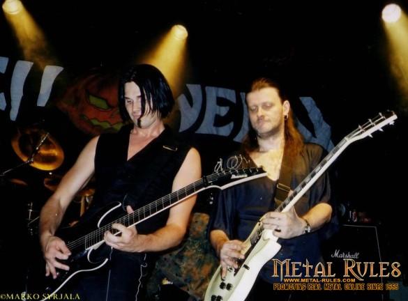 Sascha and Michael live at Finland 2004