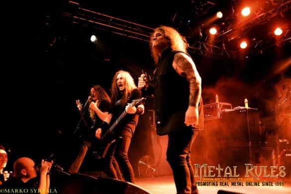 Exodus liev at Helsinki 2016
