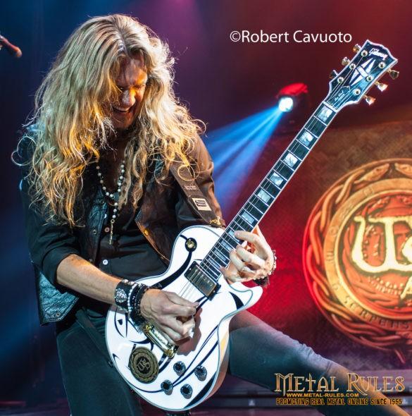 Joel Hoekstra of Whitesnake