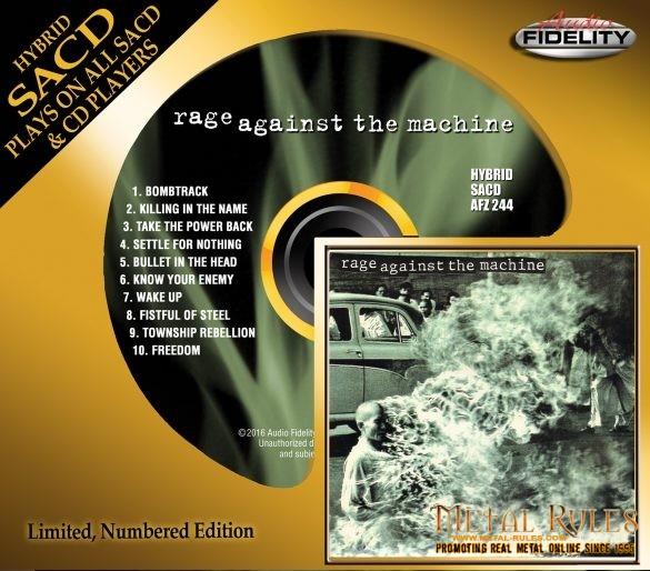 Rage Against Machine SlipcaseMock med res