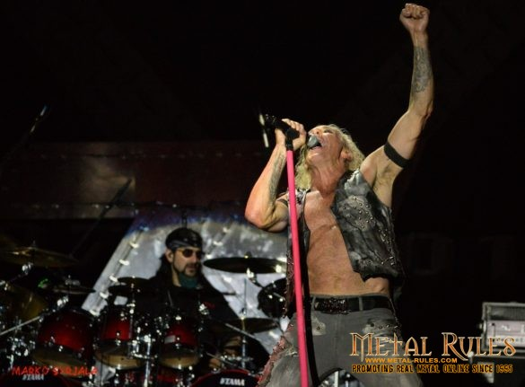 Dee Snider and Mike live at Swedenrock 2016