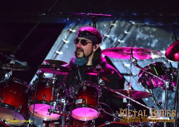 Mike live with Twisted Sister in Swedenrock 2016