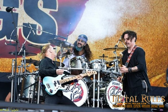 Winery Dogs live at Swedenrock 2016