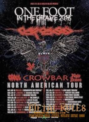 Carcass tour 5