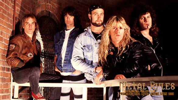 Metal Church in 1989