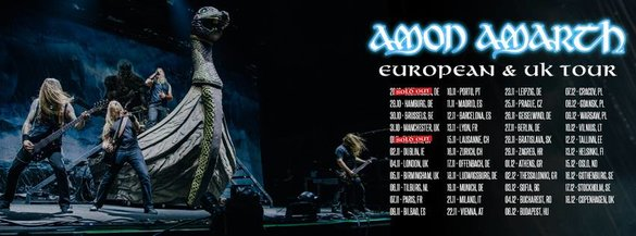 Amon Amarth Jomsviking tour
