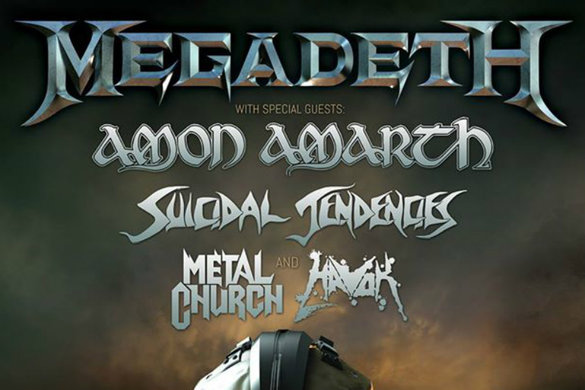 Megadeth dystopia tour