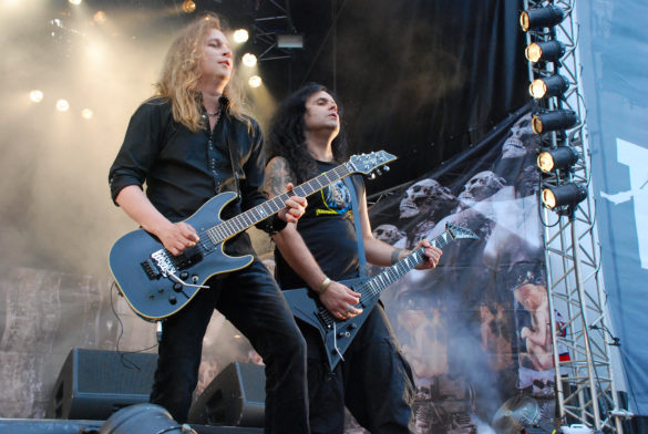 Kreator live at Finland 2008