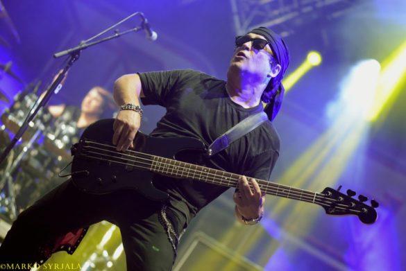 Juan on stage. Swedenrock 2017