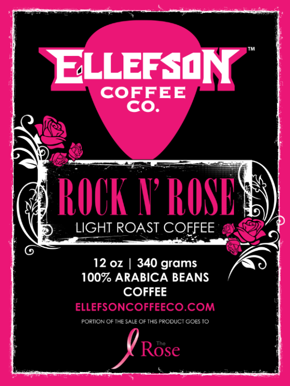 Subject: ELLEFSON COFFEE CO RELEASES NEW ROCK N' ROSE BLEND FOR BREAST CANCER AWARENESS MONTH