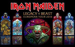 Iron Maiden Announce Legacy Of The Beast European Tour 2018!