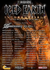 Iced Earth 2018