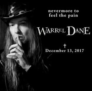 RIP Warrel Dane