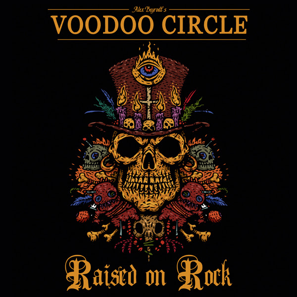 "VOODOO CIRCLE ""Raised On Rock"""