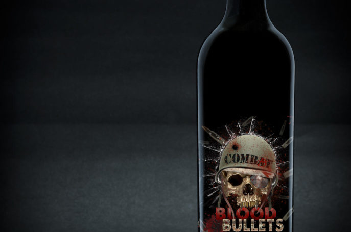COMBAT BLOOD AND BULLETS CABERNET