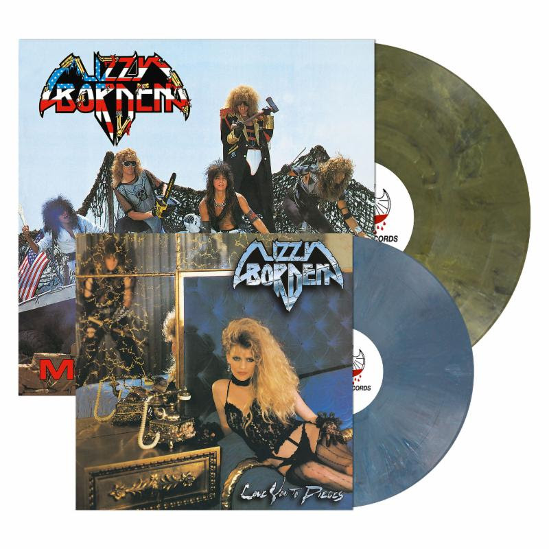 Lizzy Borden: 'Love You To Pieces' and 'Menace To Society' LP re-issues