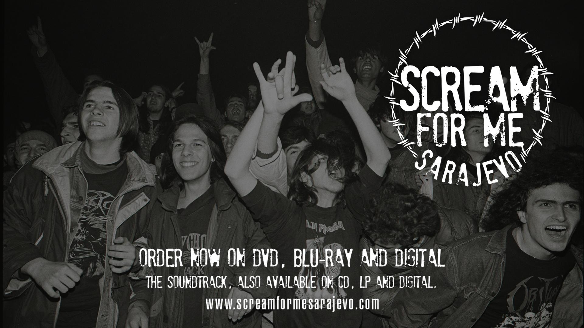 SCREAM FOR ME SARAJEVO - Trailer Thumbnail