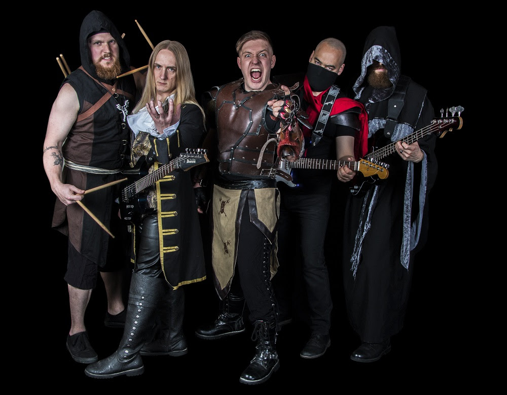 "Top L-R Lords of the Trident Current Line Up Master Hercule ""Herc"" Schlagzeuger (Lead Drums) 