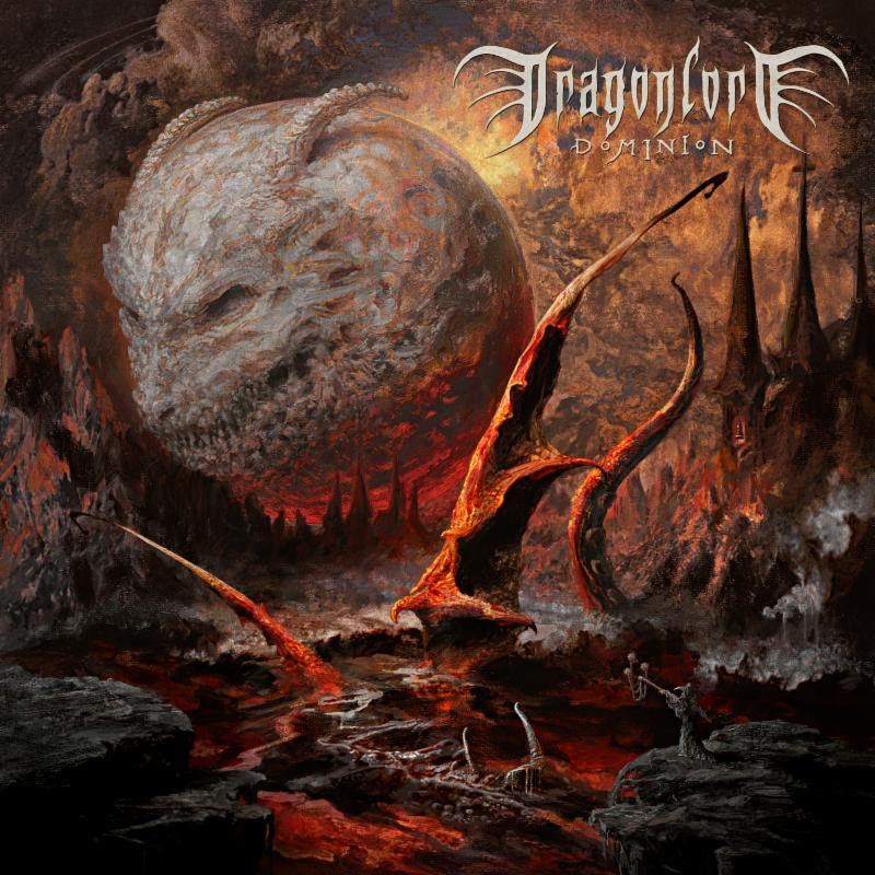 "DRAGONLORD ""Dominion"" - Album artwork painted by artist Eliran Kantor"