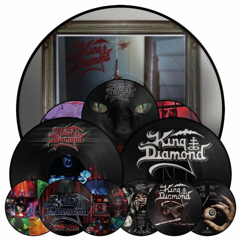 King Diamond: 'Deadly Lullabyes', 'Give Me Your Soul', 'The Puppet Master' LP re-issues
