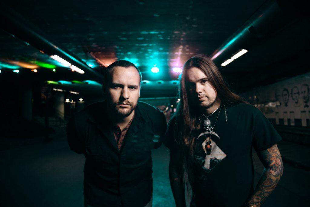 Dire Peril: L-R = John Yelland (Vocals), Jason Ashcraft (Guitar, Bass)