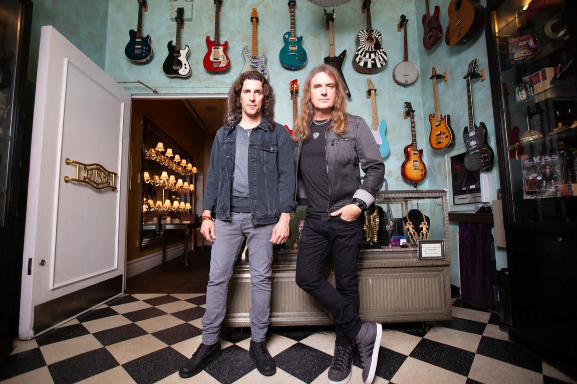 Frank Bello (Anthrax) & David Ellefson (Megadeth)
