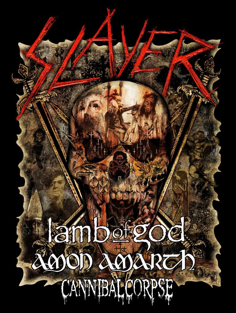 Slayer's Final World Tour, Leg 5: North America