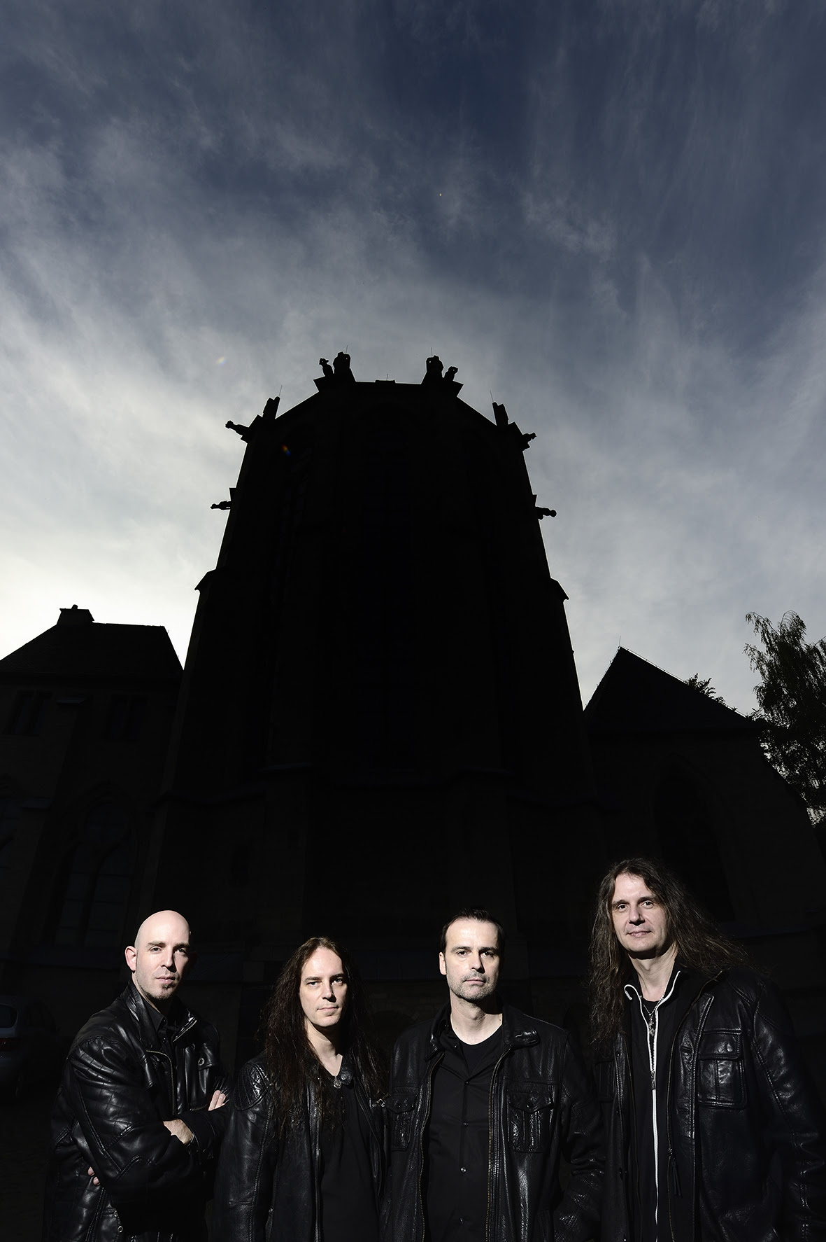 Blind Guardian promoshoot at Abteiberg in Mönchengladbach, Germany on 4th October 2014 Photocredit: Hans-Martin Issler