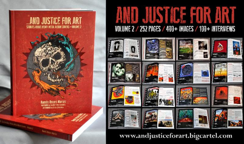 ...AND JUSTICE FOR ART: STORIES ABOUT HEAVY METAL ALBUM COVERS - VOLUME 2