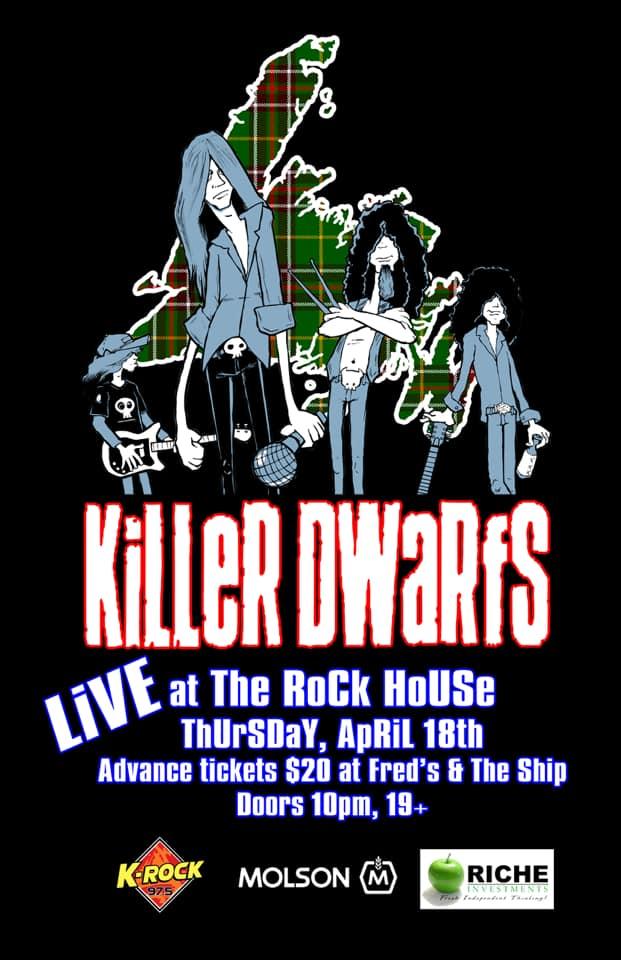 KiLLeR DWaRfS at The Rock House