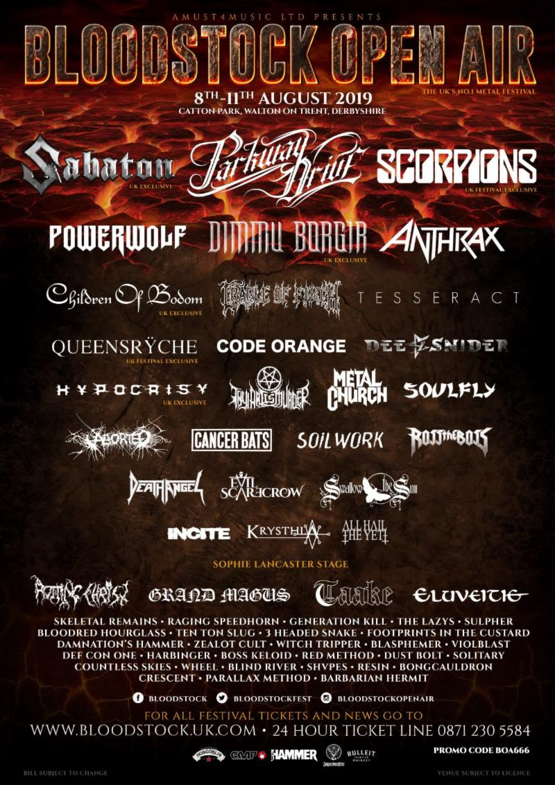 Bloodstock Open Air 2019