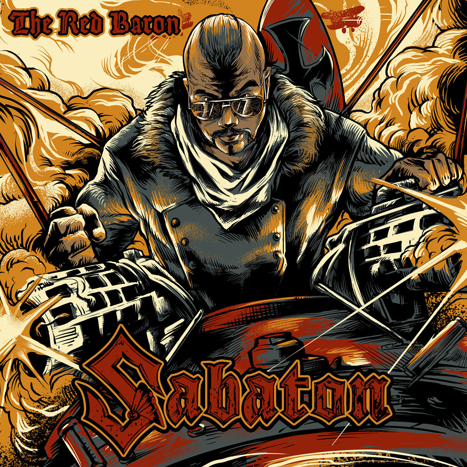 "SABATON RELEASES NEW SINGLE & VIDEO ""THE RED BARON"""