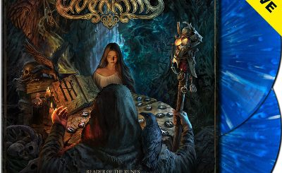 ELVENKING - Reader Of The Runes: Divination - Ltd.Gtf. CLEAR BLUE/WHITE SPLATTER 2-LP