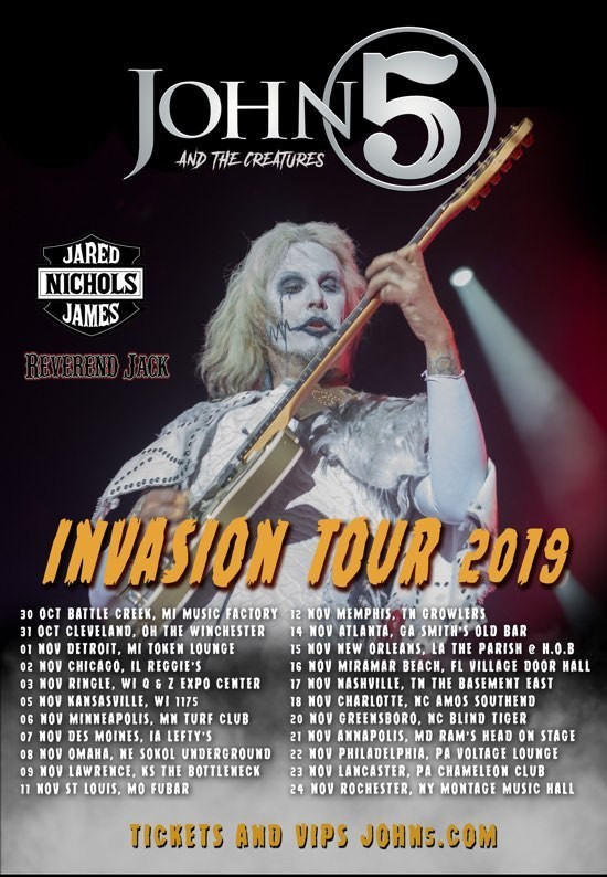 Invasion tour winter 2019