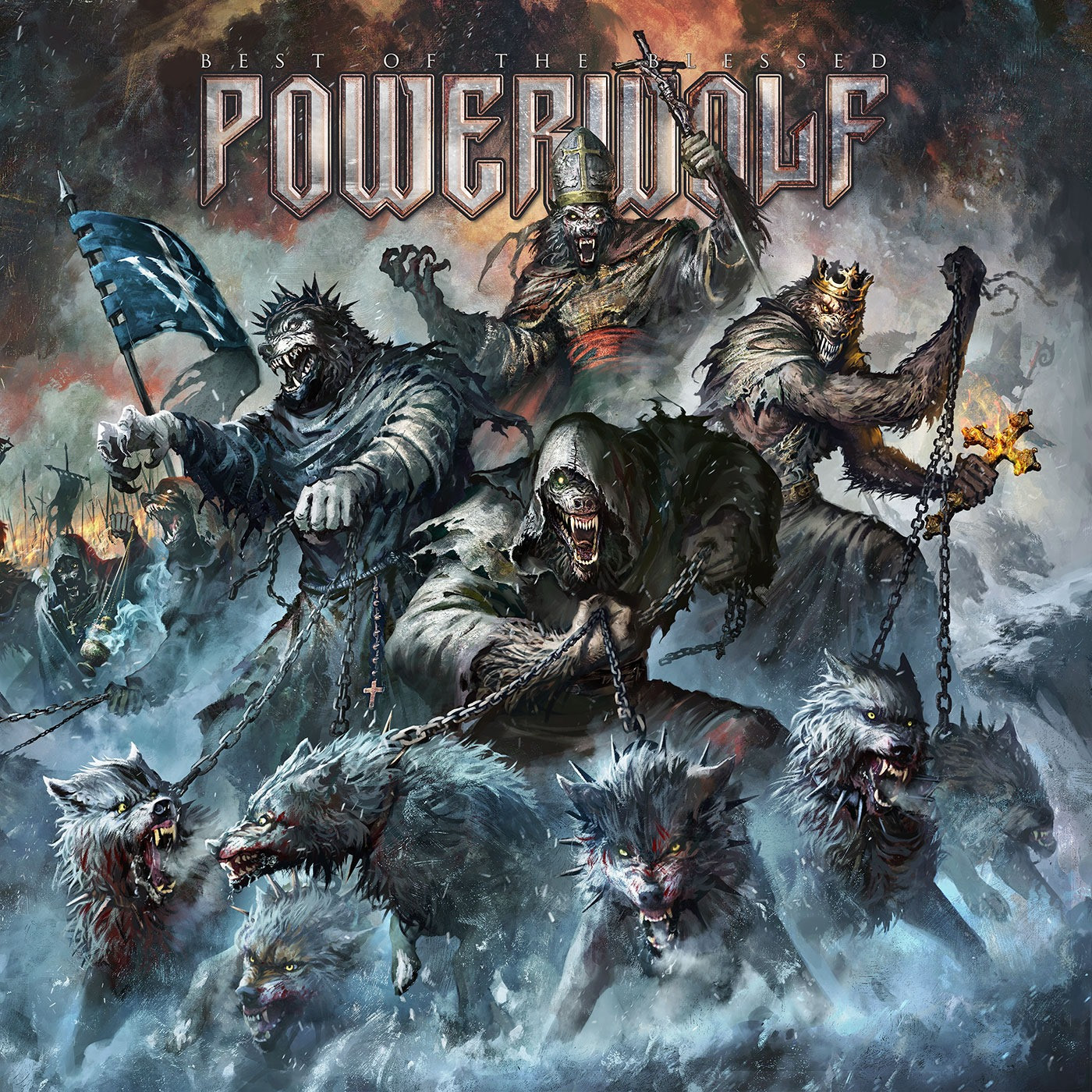 "Powerwolf - ""Best of the Blessed"""
