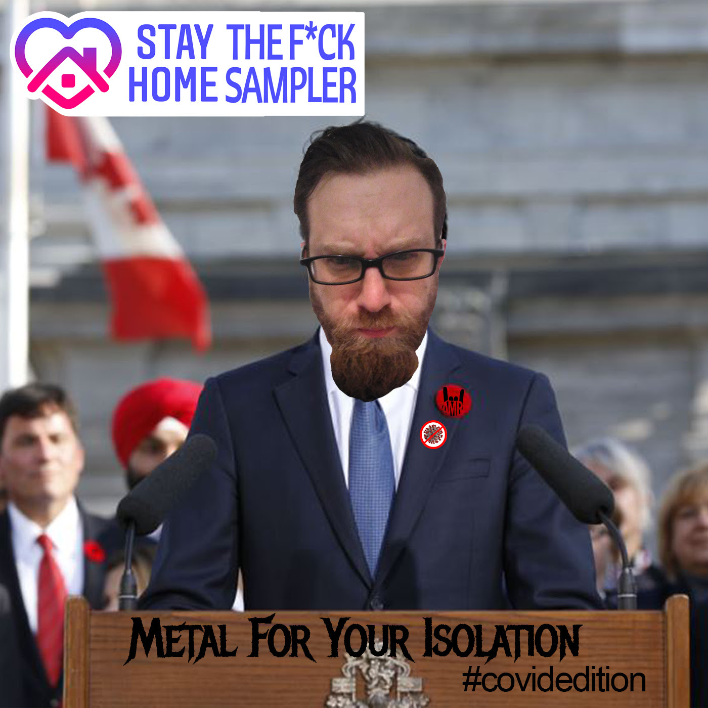 Free Metal Compilation - Stay The Fvck Home #CovidEdition - Metal For Your Isolation