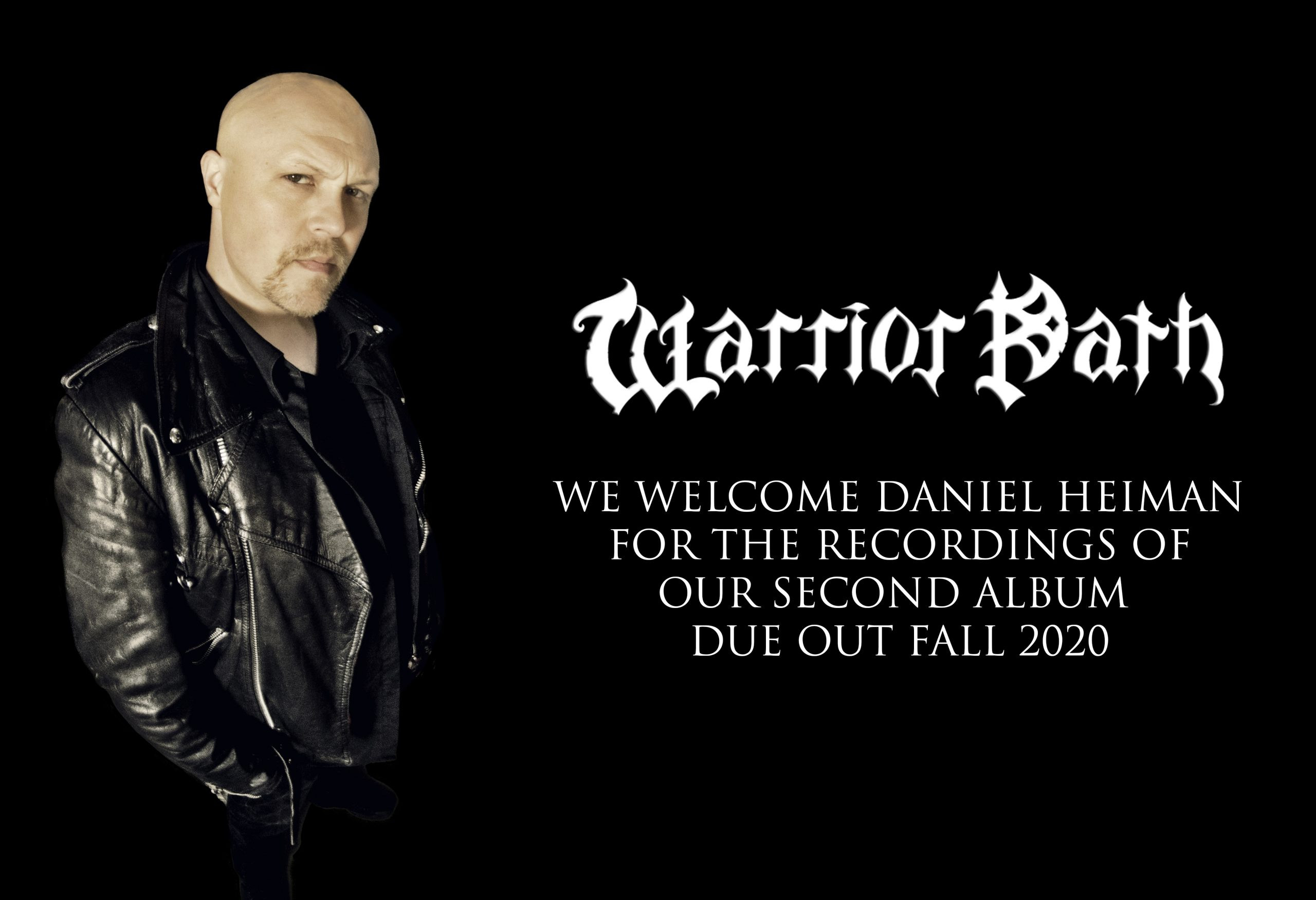 DANIEL HEIMAN.....the new voice of WARRIOR PATH