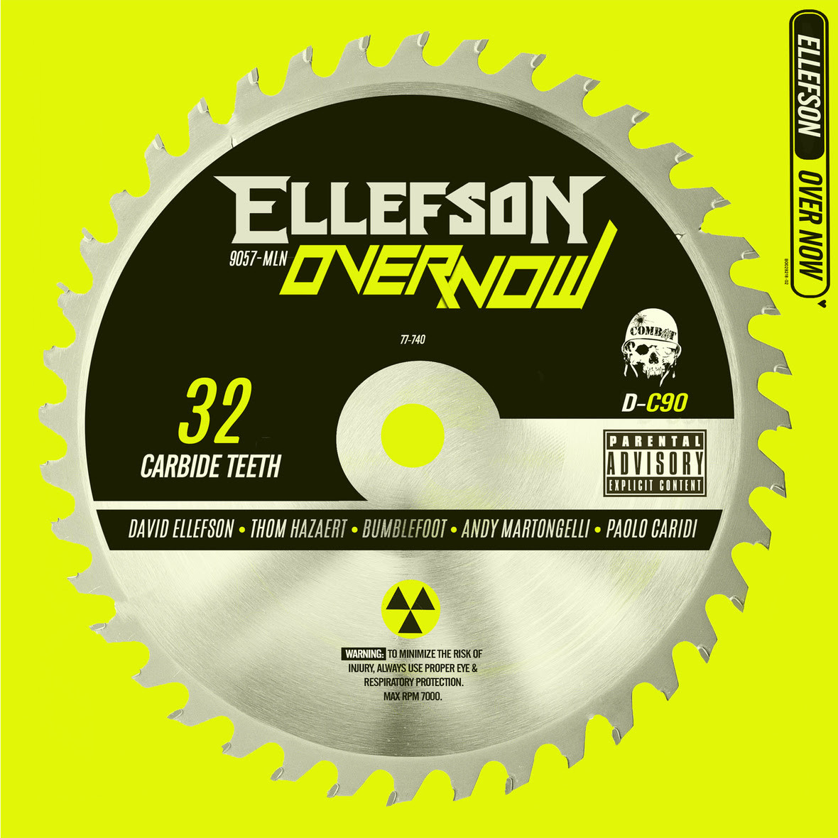"MEGADETH BASSIST DAVID ELLEFSON'S SOLO BAND ELLEFSON RELEASES RE-IMAGINED COVER OF POST MALONE TRACK ""OVER NOW"" ON ALL DIGITAL OUTLETS"