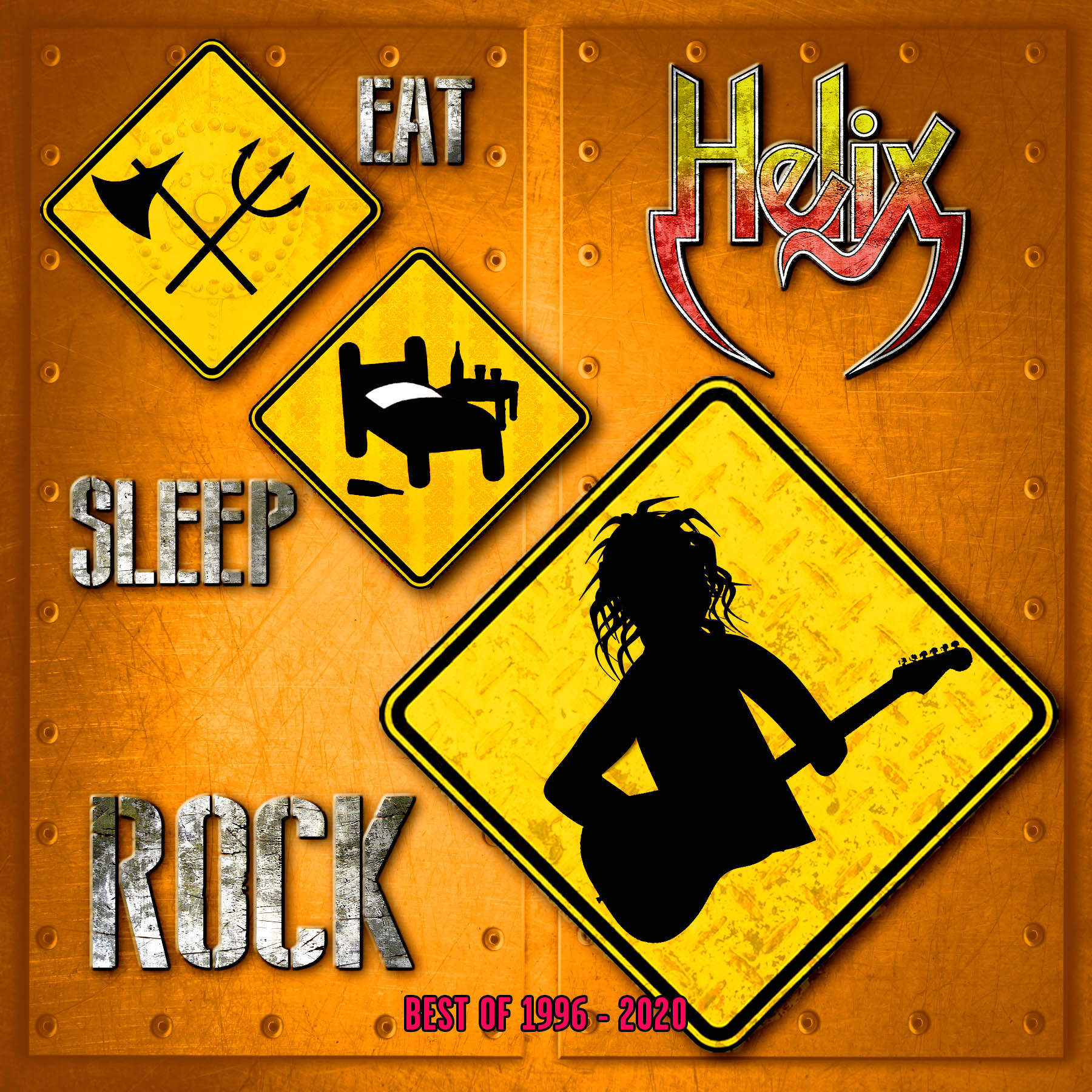 HELIX Premiere Title Track Video From Forthcoming Album 'Eat Sleep Rock'  Release – Metal-Rules.com