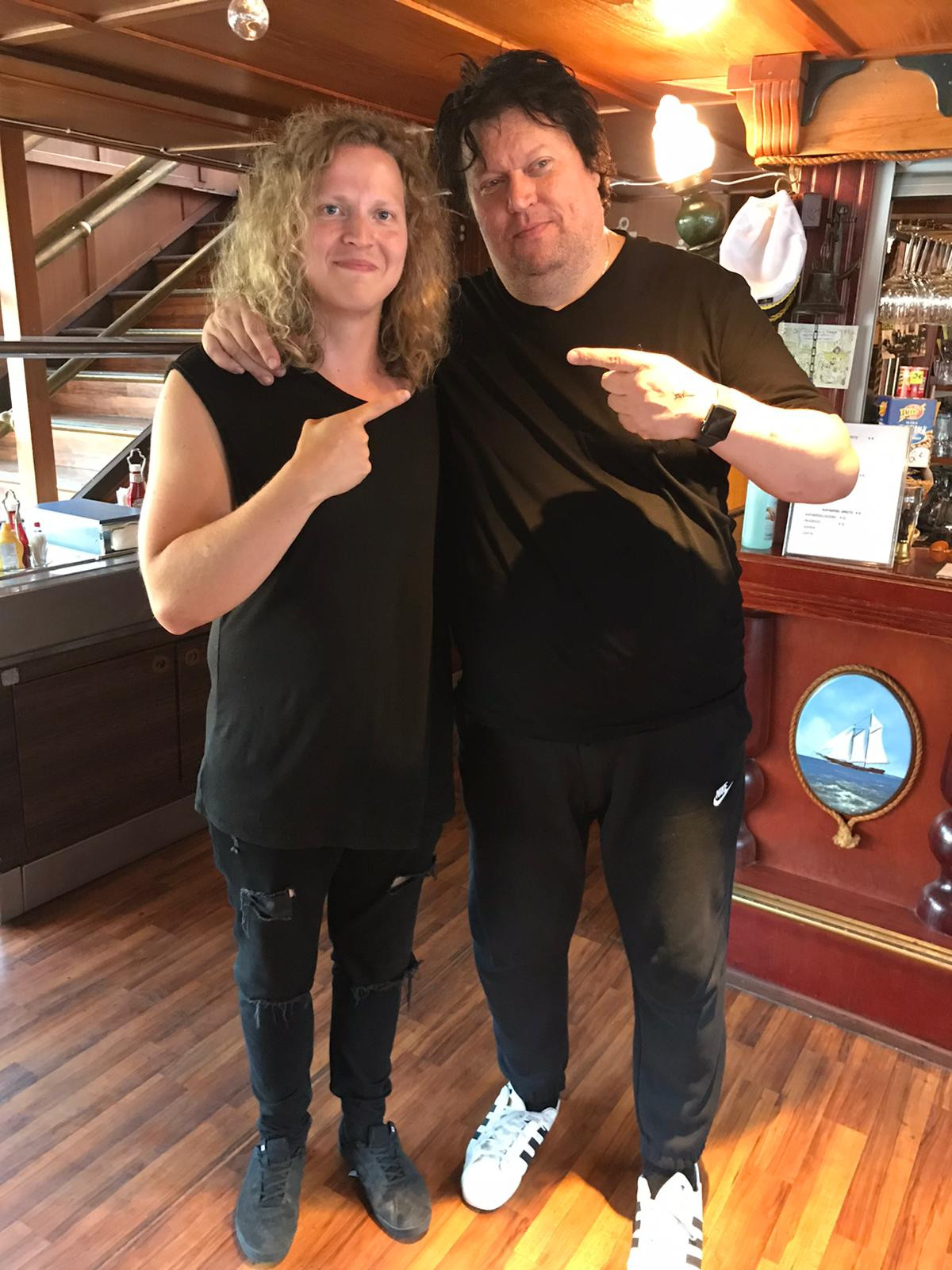 Timo Tolkki and Erik Kraemer