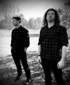 sennight: L-R - Sennight - Adam Mast – Bass, Vocal   Trevor Norris – Guitar