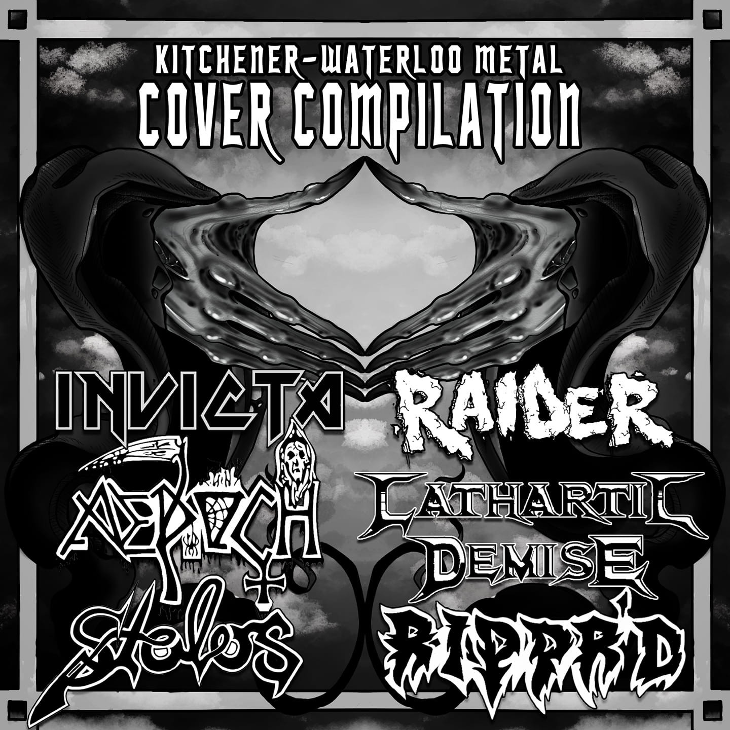 Invicta - Coming to all streaming platforms FRIDAY MAY 7, 2021, we are stoked to bring you: The Kitchener-Waterloo Metal Cover Compilation!