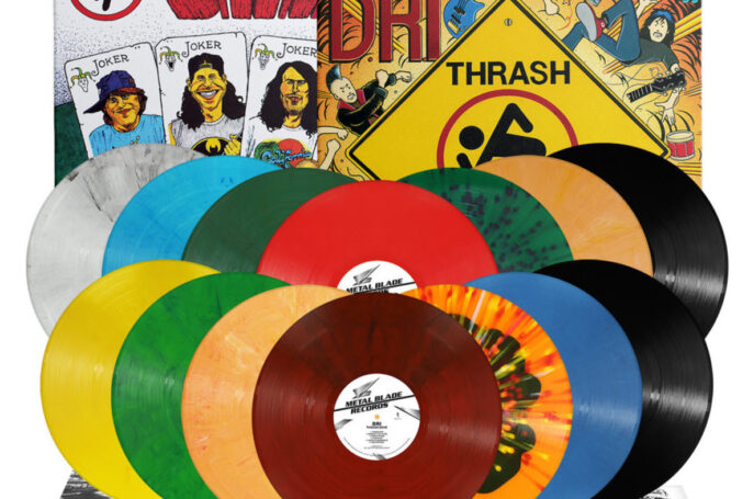 D.R.I.: 'Four of a Kind', 'Thrash Zone' vinyl re-issues