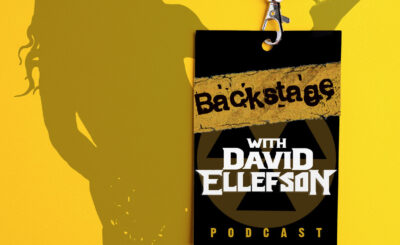 BACKSTAGE WITH DAVID ELLEFSON