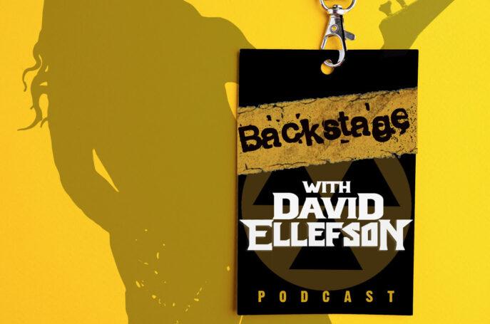 BACKSTAGE WITH DAVID ELLEFSON
